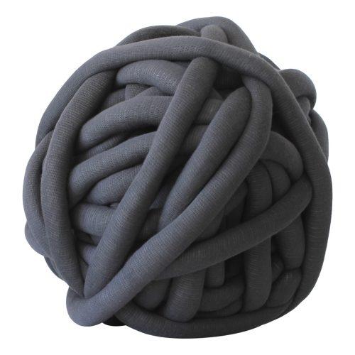 Ash grey DIY chunky organic cotton xxl knit crochet plaid bolletje wol bolletje wolletje big cotton vegan childfriendly animalfriendly wolletjebol gots do it yourself diy buy merino wool