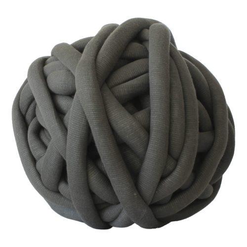 Legergroen DIY WolletjeBol losse chunky cotton mosgroen